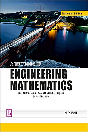 A Textbook of Engineering Mathematics (Sem-III/IV)