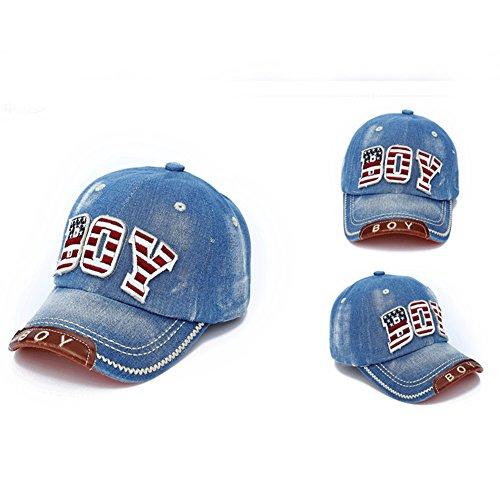 Verstellbare Baseball Cap, Outdoor Sport Baseball Hip-Hop Cap Casual Sun Hat für Kinder Jungen Mädchen (Uniformen Jungen Baseball)