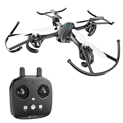 Holy Stone Mini Drohne HS170G RC Quadrocopter 2.4GHz 6-Achsen-Gyro Stabilization System RTF Helicopter Quadrocopter ferngesteuert mit One Key Start/ Landung, automatische Höhenhalter, Headless Modus, 360° Looping, eine beste Spielzeug drone für Anfänger und Kinder ab 10 Jahre, Farbe schwarz blau
