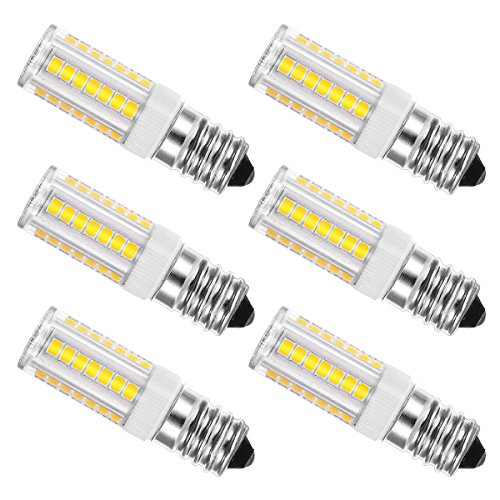 JandCase - Bombilla LED E14, 5 W/450 lúmenes, equivalente a 40 W,...