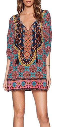 robe-chemise-femme-boheme-style-ethnique-imprime-vintage-avec-lacet-au-cou-multicolore-36