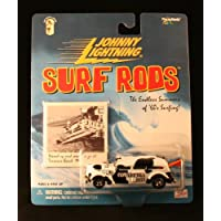 COWABUNGA BOYS * WHITE * Johnny Lightning 2000 SURF RODS Release Two 1:64 Scale Die Cast Vehicle