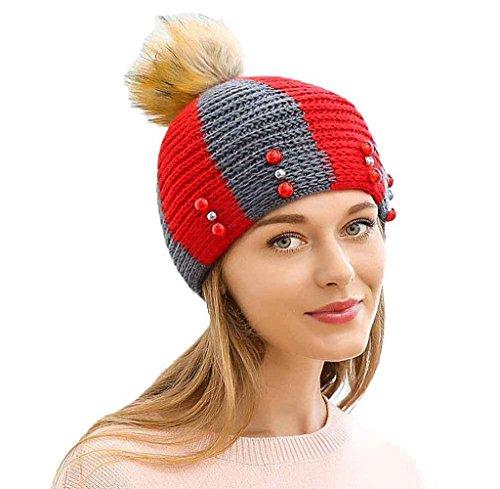 tongshi-las-mujeres-forman-mantener-caliente-flores-sombrero-hecho-de-canamo-rojo