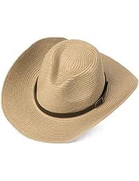 Moda para Hombre Sombrero De Natural Paja para El Fashion Sol Hombres  Hombres Verano Sombrero De b9aed0cdb45