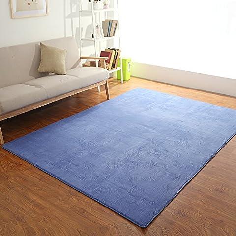 Home continental soggiorno con semplici e moderni divani stile 'pouf' le camere da letto sono pieni di negozi tatami letto tappeti personalizzati ,140*200cm aggiunta Mats , blu scuro
