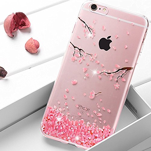iPhone 6S Hülle Silicone,iPhone 6S Hülle Glitzer,iPhone 6 Hülle Rosa,EMAXELERS iPhone 6S Plating Gold TPU Bumper Case Soft Silikon Gel Schutzhülle Hülle für iPhone 6 4,7 Zoll,iPhone 6S Hülle Glitzer D Z TPU 5