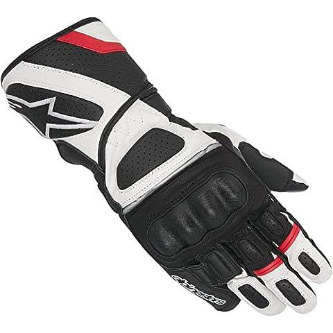 Motorcycle Alpinestars SP Z Drystar Gloves WP Black White Red XL UK Seller