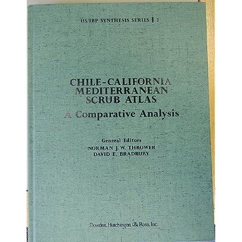 Chile-California Mediterranean Scrub Atlas: A Comparative