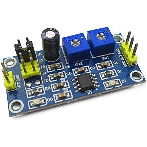 KAISIL Impulso a onda quadrata ne generatore555 onda quadra di frequenza duty cycle regolabile piccolo generatore di segnale