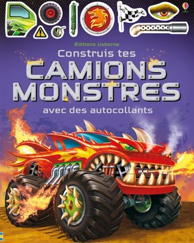 Construis tes camions monstres avec des autocollants
