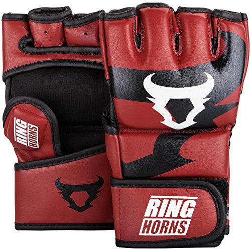 Ringhorns Charger Mma Handschuhe, Rot, L/XL
