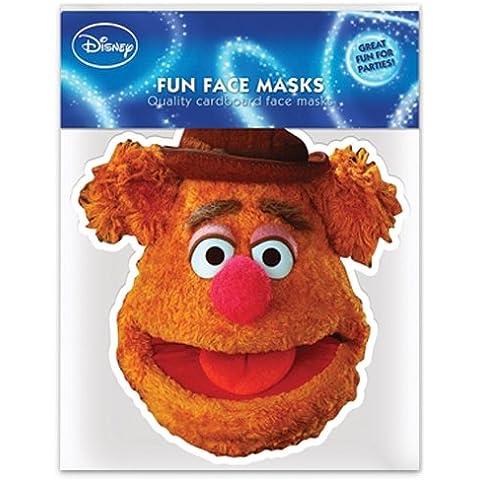 Máscara de cartón para fiestas Los Muppets - Fozzy the Bear/El Oso Figaredo