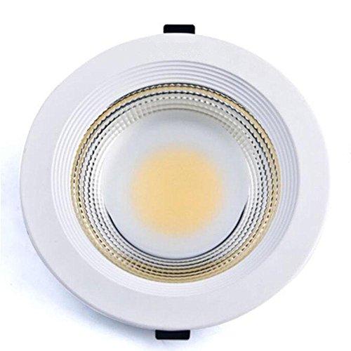 Rotonda LED luce di pannello da incasso, incandescenza 50Hz Bianco,