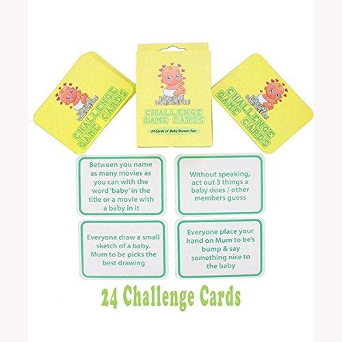 Alandra fête Baby Shower Challenge Carte de Jeu