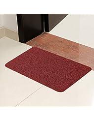 El raspar la suciedad Rub Polvo Inicio Mat delante de la puerta ( Color : A )