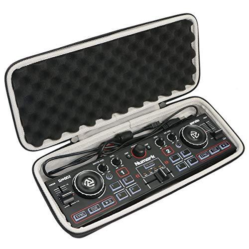 Khanka Eva Hart Reise Tragetasche case für Numark DJ2GO2 - Ultra-portabler 2-Kanal DJ Controller für Serato DJ Intro.