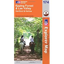 Epping Forest and Lee Valley (OS Explorer Map)