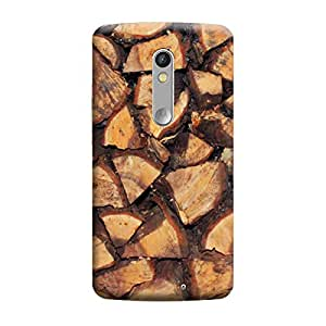 CaseLite Premium Printed Mobile Back Case Cover With Full protection For Moto X Force (Designer Case)