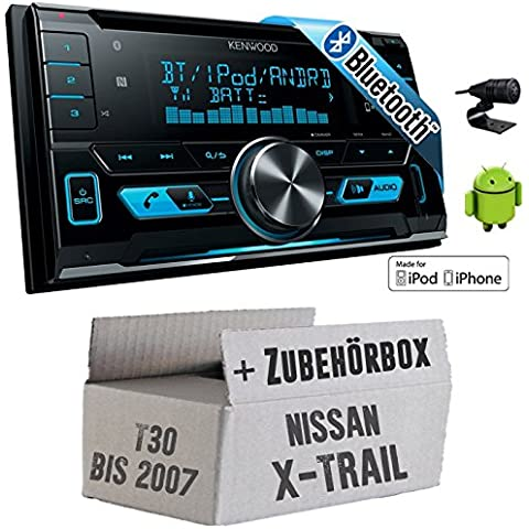 Nissan X-Trail T30 bis 2007 - Kenwood DPX-X5000BT - 2DIN