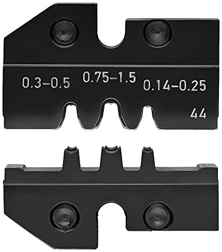 Knipex 97 49 44 Profil de sertissage pour Contacts enroulés, Noir