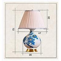 ZYCkeji Zart Tischlampe Europäischen Schlafzimmer Nachttisch Wohnzimmer Studie Dekorative Lampe Originalität preisvergleich bei billige-tabletten.eu