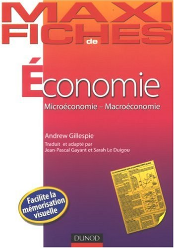 Economie : Microéconomie-Macroéconomie