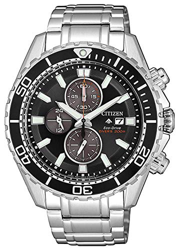 Citizen Herren Analog Quarz Uhr mit Edelstahl Armband CA0711-80H