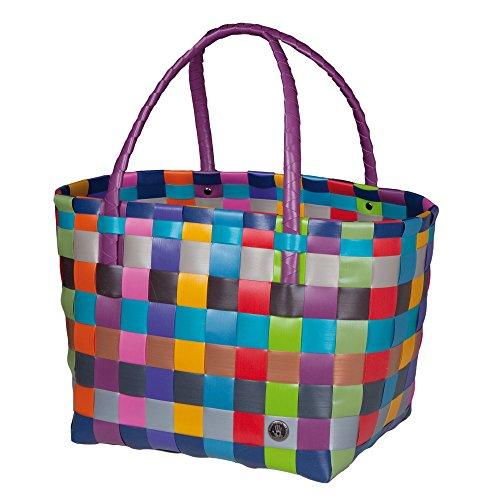 Handed By - Tasche / Shopper - Paris - Farbe: Bunt Multi Mix - 27 x 31 x 24 cm (Paris Tasche)