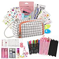 ‏‪Stationery Set - 180pcs In 1 Stationery Gift Set With All Necessary School Tools Back To School Shopping List Set Presented By Kevin&sasa Crafts (Pink)‬‏