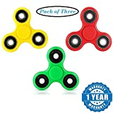 #4: COMBO PACK OF 3 Arvel Fidget Spinner Toy Stress Reducer FIDGET SPINNERS : GRAB THIS COMBO NOW- Limited Stock!!
