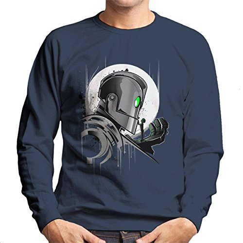 Iron Giant My Giant Friend Men's Sweatshirt