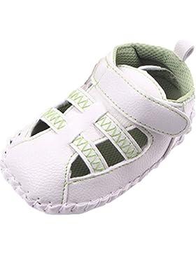 La vogue Baby Unisex Leder Lauflernschuhe Sandalen