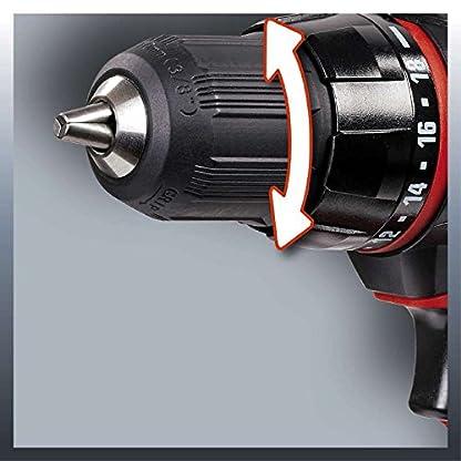 Einhell 4513846 Taladro sin Cable TC-CD 18-2 litio 18 V, 18 W, Rojo