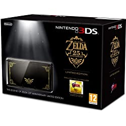 Nintendo 3DS - Color Negro - Incluye Zelda Ocarina of Time