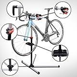 Reparacion Bicicletas Soporte de Pie con Bandeja Imantada Altura de 90 a 170 cm Herramientas Bici