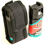 TIW FARB gel self defence spray with genuine Protec belt pouch.