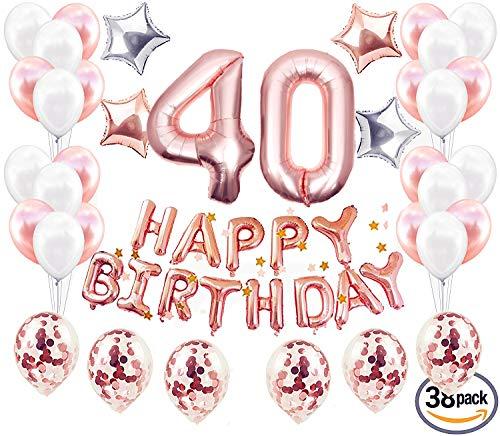 . Geburtstag Dekorationen 40. Geburtstagsparty Supplies Erwachsene ()