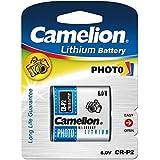 Camelion CR-P2-BP1 Litio 1400mAh 6V batería recargable - Batería/Pila recargable (1400 mAh, Litio, 6 V, 1)