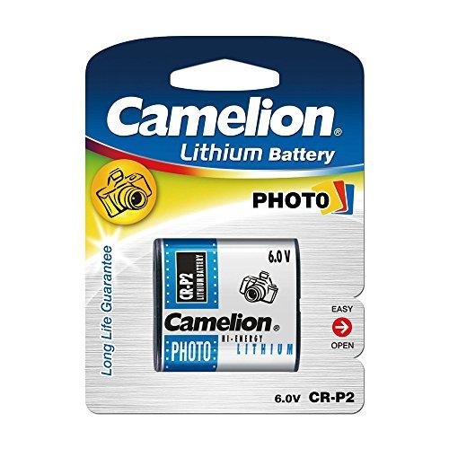 Camelion 19001152 Lithium Foto Batterie CR-P2 6 Volt/ 1 Stück