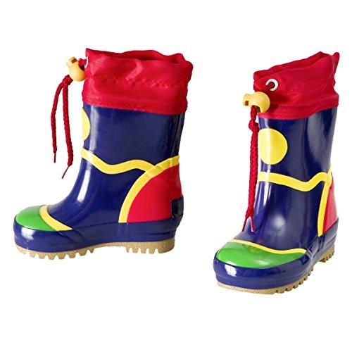 MAXIMO Gummistiefel Baby-Schuhe Kinder-Schuhe Stiefel, Größe 22, mehrfarbig