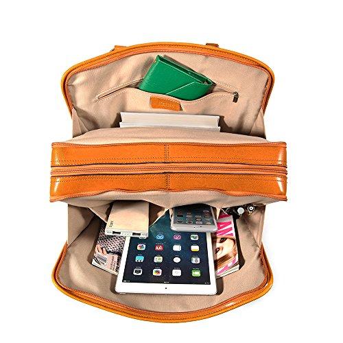 Kattee Borsa a Tracolla Donna Borsa Messenger da Lavoro Borsa a Mano per PC portabile 14
