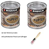 Kupferlack wetterfest 750 ml Dose Farbe: kupfer-natur (wetterfest & farbtonstabil)