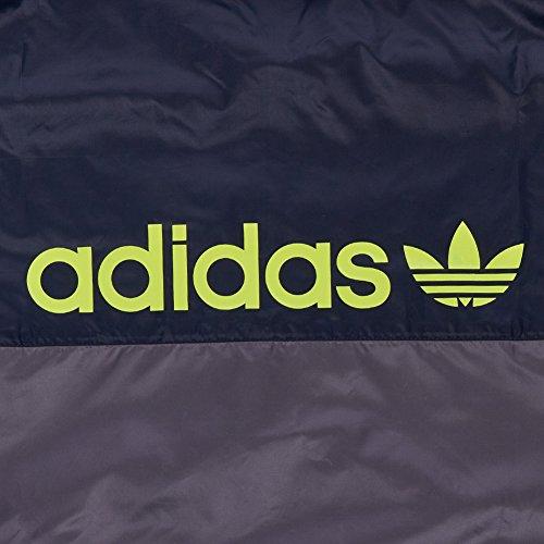 Adidas Originals–Giacca 90s Nylon g90080, Grau, XL Grau