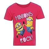 Ich Einfach Unverbesserlich - Mädchen Minion Kinder T-Shirt Gr. 98-128, Doppelgröße:110/116, Farbe:Pink