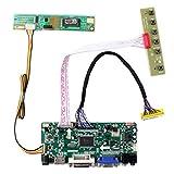HDMI + VGA + DVI + Audio-Eingang LCD-Controller-Board für LP171WU3 LTN170CT02 17