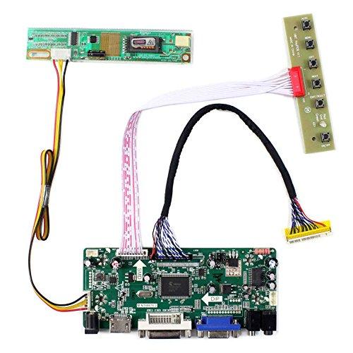 HDMI + VGA + DVI + Audioeingang LCD-Controller-Karte für LTN154P1 LTN170WP 15,4