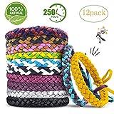 Funmo Lot de 12 Bracelets Anti-m...