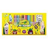 CRAYOLA I Profumelli Set attività per Disegnare con Colori Profumati, per Gioco e Regalo, 60 Pezzi, 04-0371