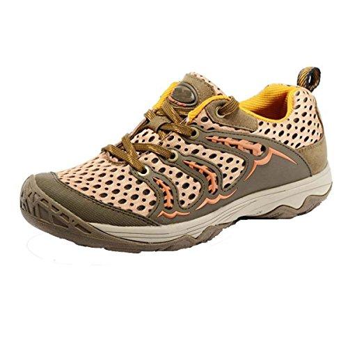 CHT Printemps Et à L'automne Mâle Randonnée En Plein Air Chaussures Réseau Burden Taille Multicolore Brown