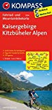 Kaisergebirge - Kitzbüheler Alpen: Fahrrad- und Mountainbikekarte. GPS-genau. 1:70000: Fietskaart 1:70 000 (KOMPASS-Fahrradkarten International, Band 3304)